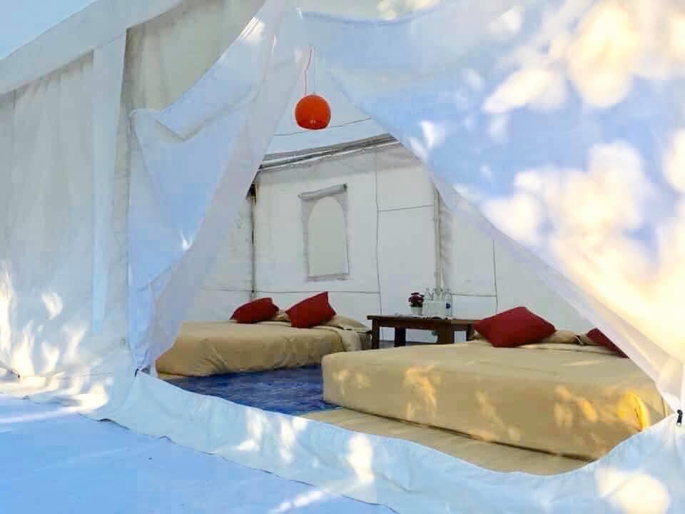 ภายในเต็นท์ที่พัก - คาซ่า เดอ ปันดาว