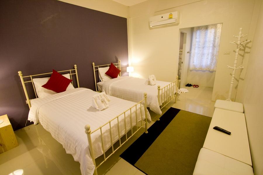ห้องเตียงคู่ - คาซ่า เดอ ปันดาว