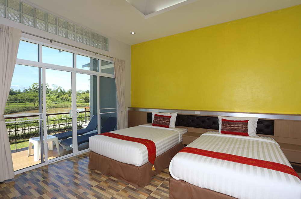 ห้องนอนของ Pool Villa - ภูเรือ แซงค์ฌัวรี รีสอร์ท แอนด์ สปา
