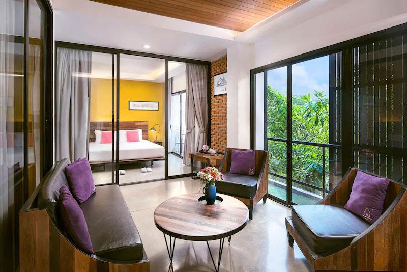 โรงแรมอัมพวาน่านอน แอนด์สปา (Amphawa Na Non Hotel & Spa)