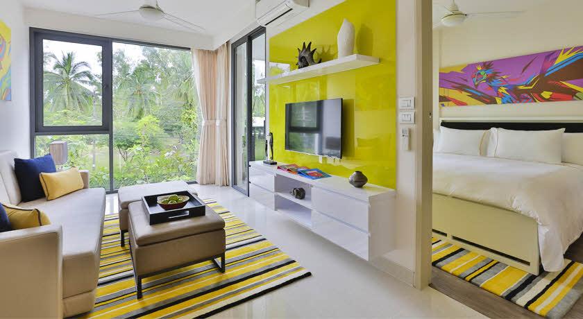 ห้องแบบ 1 ห้องนอน - โรงแรมแคสเซีย ภูเก็ต หาดบางเทา