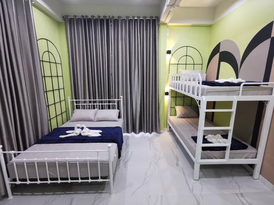 ห้อง 3 เตียง - ปิล็อก การ์เดนฮิว
