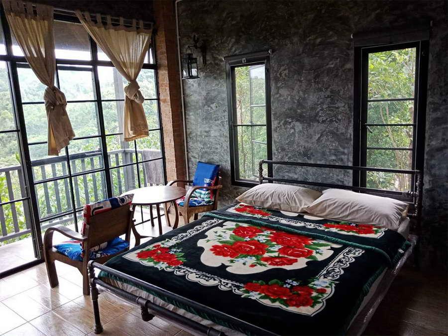 ห้องเตียงเดี่ยวโซน My loft - ปิล็อก ฮิลล์ เฮาส์