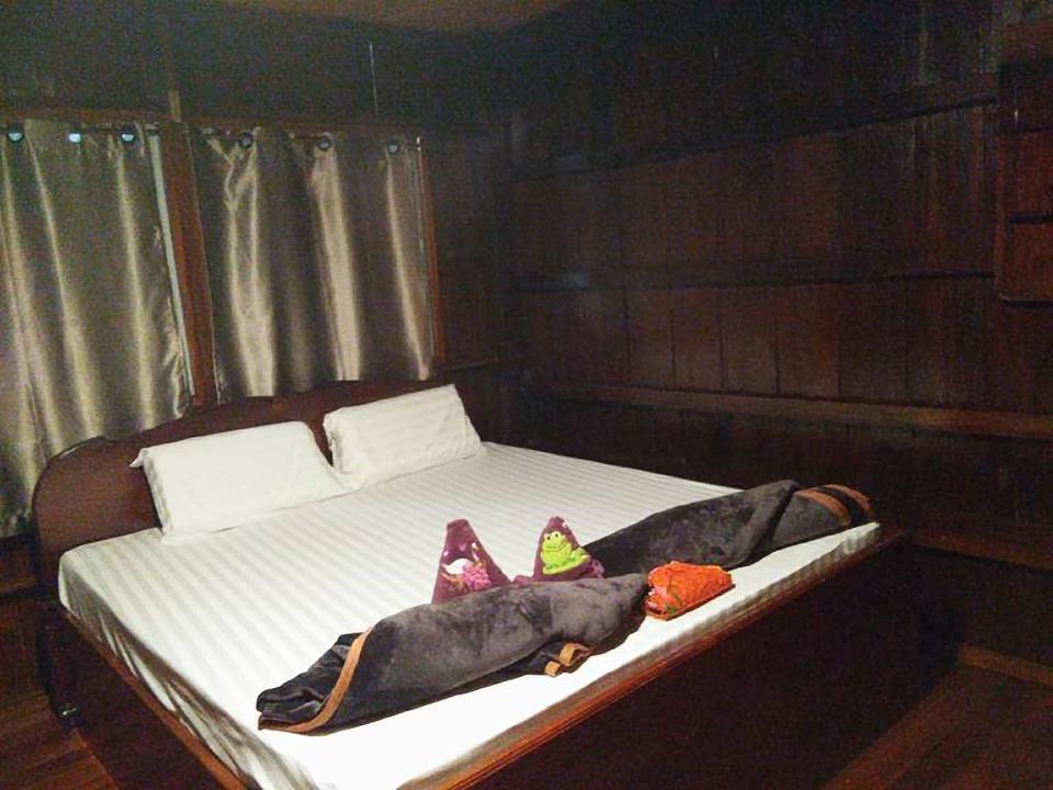 ห้องนอน - ผาแป โฮมสเตย์