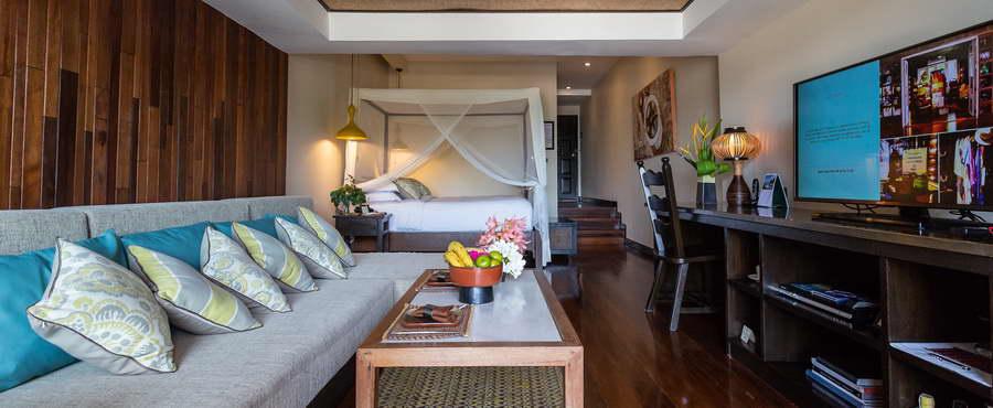 ห้อง Beachfront Suites - โรงแรมบ้านท้องทราย