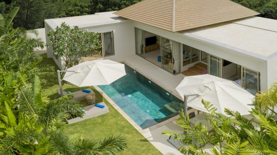บ้านพักตากอากาศพร้อมสระว่ายน้ำส่วนตัว - บ้านใจ ภูเก็ต