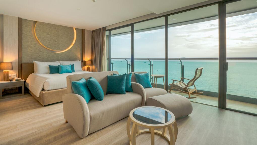 ห้อง Suite วิวทะเล - เคป ดารา รีสอร์ท