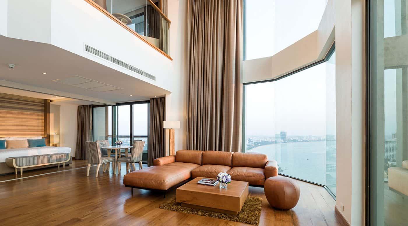 ห้อง Top Star Duplex Suite วิวทะเล - เคป ดารา รีสอร์ท