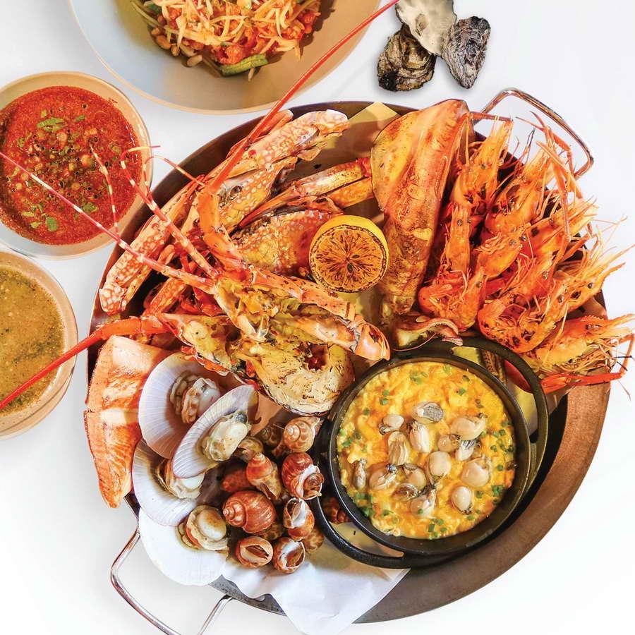 Seafood Platter - โรงแรมฮาร์ดร็อค พัทยา