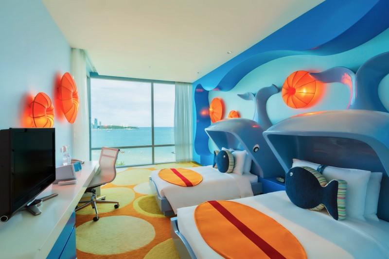 ห้อง Family Suite - โรงแรมฮอลิเดย์ อินน์ พัทยา
