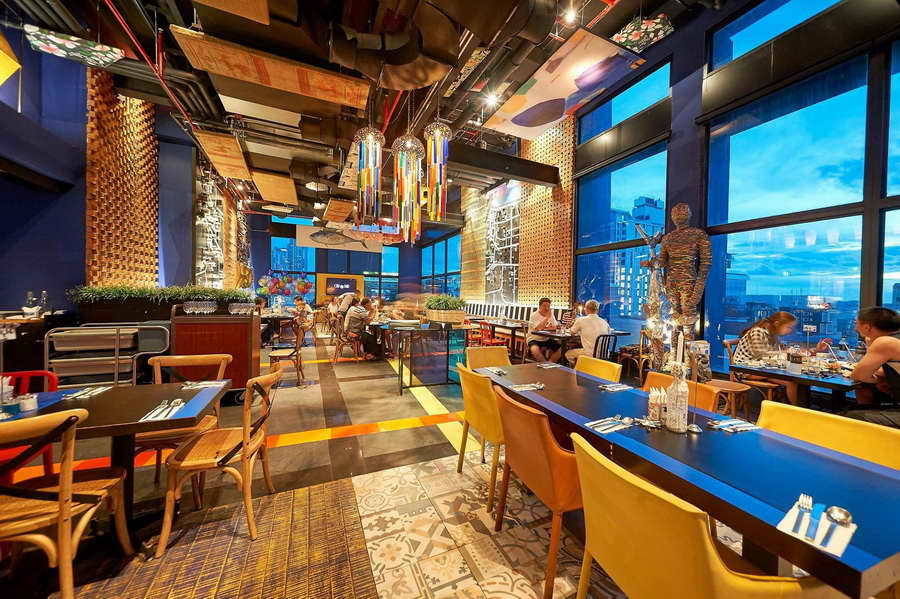 ร้านอาหาร Big Fish - สยาม แอท สยาม ดีไซน์ พัทยา