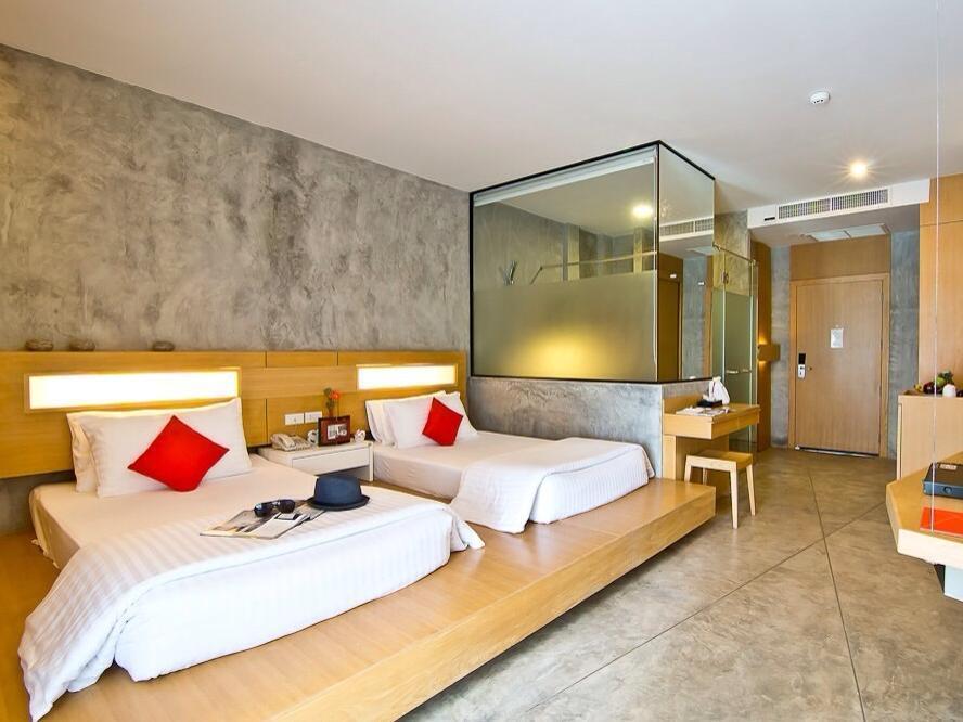ห้อง XS STANDARD TWIN ROOM - โรงแรมเดอะ นาว